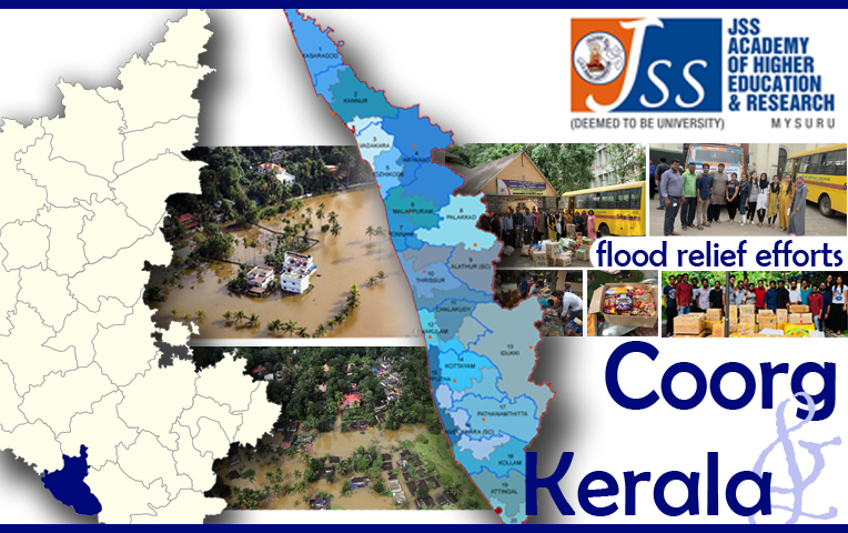 Kerala Flood Relief by JSSDU Students